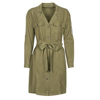 textil Mujer Vestidos cortos Ikks BS30055 Kaki