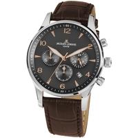 Relojes & Joyas Hombre Relojes analógicos Jacques Lemans 1-1654ZK, Quartz, 40mm, 10ATM Plata