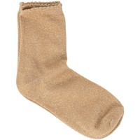 Accesorios Mujer Calcetines Pieces 17078534 Beige