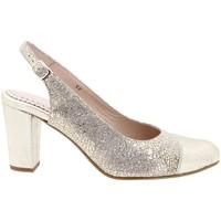 Zapatos Mujer Zapatos de tacón Gasymar 180212 Plata