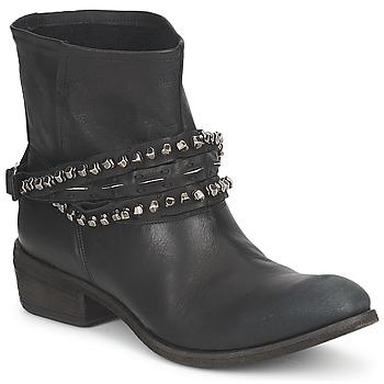 Zapatos Mujer Botas de caña baja Strategia GRONI Negro