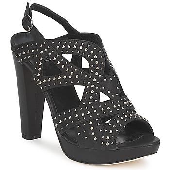 Zapatos Mujer Sandalias Strategia CLOUCLOU Negro