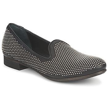 Zapatos Mujer Mocasín Strategia CLOUPI Negro