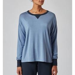 textil Mujer Pijama Skiny Camiseta  Sleeve 080268 Blue
