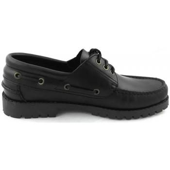 Zapatos Hombre Zapatos náuticos Zerimar ANGOLA Negro