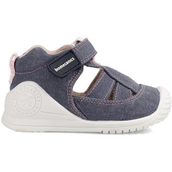 Zapatos Hombre Zapatillas bajas Biomecanics CANGREJERA LONA Azul