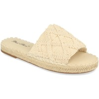 Zapatos Mujer Zuecos (Mules) Milaya 2S24 Beige