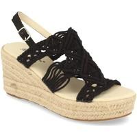 Zapatos Mujer Sandalias Milaya 5S3 Negro