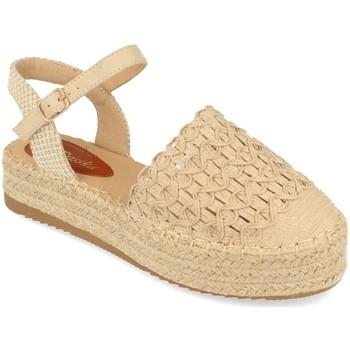 Zapatos Mujer Sandalias Prisska JSZ1078 Beige