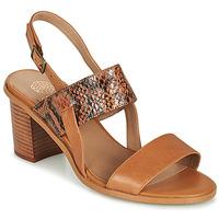 Zapatos Mujer Sandalias Karston LIMEY Camel