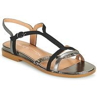 Zapatos Mujer Sandalias Karston SOBIO Negro
