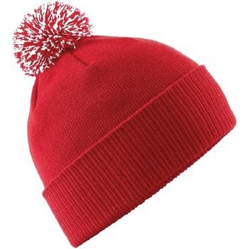 Accesorios textil Gorro Beechfield B450 Rojo