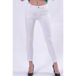 textil Mujer Pantalones chinos Fracomina FR21SP3004W40101 blanco