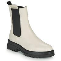 Zapatos Mujer Botas de caña baja JB Martin OPTIMISTE Blanco