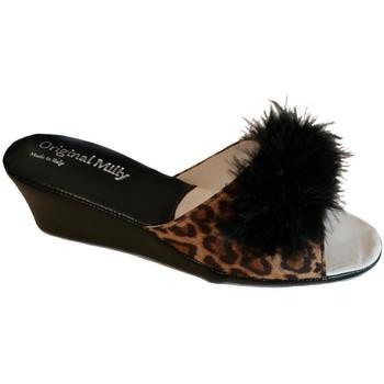 Zapatos Mujer Zuecos (Mules) Milly MILLY102CIGNOanim nero