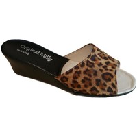 Zapatos Mujer Zuecos (Mules) Milly MILLY103animal nero