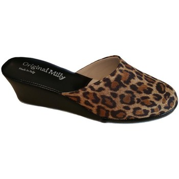 Zapatos Mujer Zuecos (Mules) Milly MILLY5000animal nero