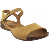 Zapatos Mujer Sandalias Interbios Sandalia señora  4458 mostaza Amarillo