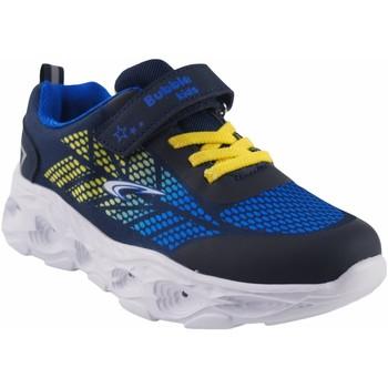 Zapatos Niño Multideporte Bubble Bobble Deporte niño  a3213 azul Blanco