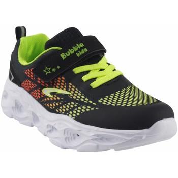 Zapatos Niño Multideporte Bubble Bobble Deporte niño  a3213 negro Verde
