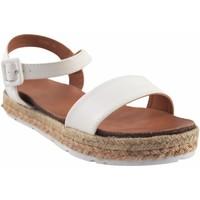 Zapatos Niña Alpargatas Bubble Bobble Sandalia niña  a3280 blanco Blanco