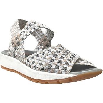 Zapatos Mujer Sandalias Bernie Mev Kaia Gris plateado
