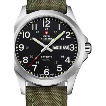 Relojes & Joyas Hombre Relojes analógicos Swiss Military By Chrono SMP36040.05, Quartz, 42mm, 5ATM Plata