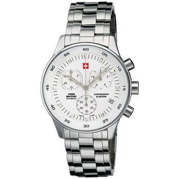 Relojes & Joyas Hombre Relojes analógicos Swiss Military By Chrono SM30052.02, Quartz, 41mm, 5ATM Plata