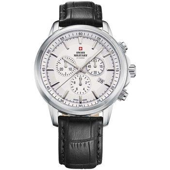 Relojes & Joyas Hombre Relojes analógicos Swiss Military By Chrono SM34052.09, Quartz, 42mm, 10ATM Plata