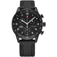 Relojes & Joyas Hombre Relojes analógicos Swiss Military By Chrono SM34012.09, Quartz, 41mm, 5ATM Negro