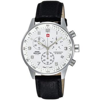 Relojes & Joyas Hombre Relojes analógicos Swiss Military By Chrono SM34012.06, Quartz, 41mm, 5ATM Plata
