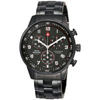 Relojes & Joyas Hombre Relojes analógicos Swiss Military By Chrono SM34012.04, Quartz, 41mm, 5ATM Negro