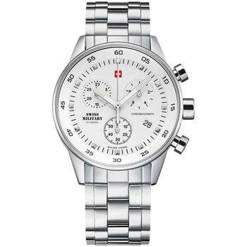 Relojes & Joyas Mujer Relojes analógicos Swiss Military By Chrono SM34005.02, Quartz, 36mm, 5ATM Plata