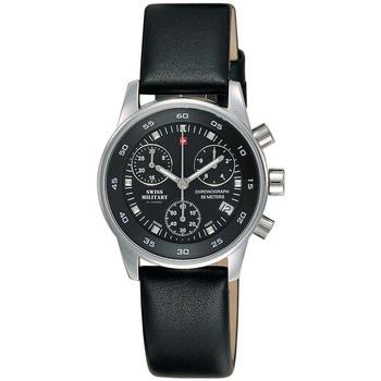 Relojes & Joyas Mujer Relojes analógicos Swiss Military By Chrono SM34013.03, Quartz, 30mm, 5ATM Plata