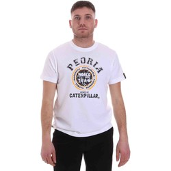 textil Hombre Camisetas manga corta Caterpillar 35CC301 Blanco