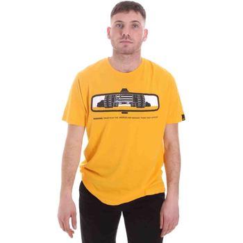 textil Hombre Camisetas manga corta Caterpillar 35CC2510234 Amarillo