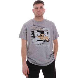 textil Hombre Camisetas manga corta Caterpillar 35CC2510217 Gris