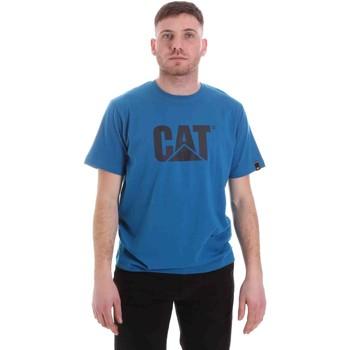 textil Hombre Camisetas manga corta Caterpillar 35CC2510150 Azul