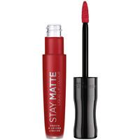 Belleza Mujer Pintalabios Rimmel London Stay Satin Liquid Lip Colour 500