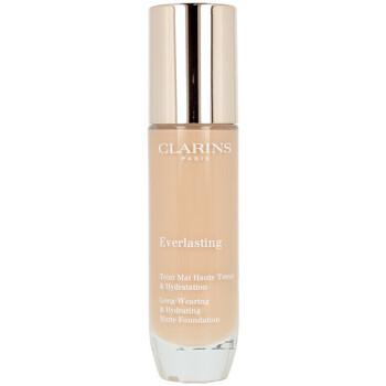 Belleza Mujer Base de maquillaje Clarins Everlasting Teint Mat Haute Tenue 112c-amber  30 ml