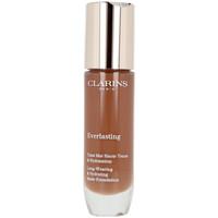 Belleza Mujer Base de maquillaje Clarins Everlasting Teint Mat Haute Tenue 120c-espresso  30 ml