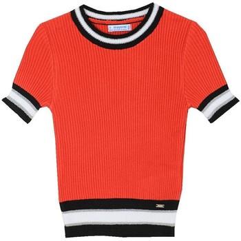 textil Niña Jerséis Mayoral Jersey m/c canale Rojo