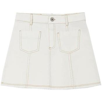 textil Niña Shorts / Bermudas Mayoral Falda sarga Blanco
