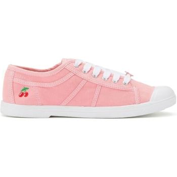 Zapatos Mujer Zapatillas bajas Le Temps des Cerises Basket Basic 02 Old Pink Rosa