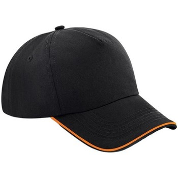 Accesorios textil Gorra Beechfield B25C Negro/Naranja