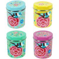 Casa Baúles, cajas de almacenamiento Signes Grimalt Caja Té Set 4 Unidades Multicolor