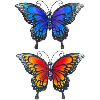 Casa Apliques de exterior Signes Grimalt Mariposa Set 2U Multicolor