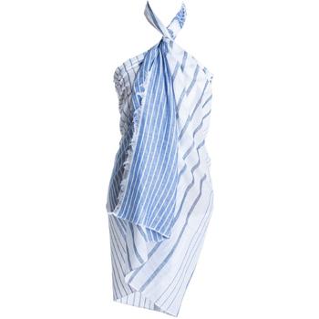 textil Mujer Pareos Isla Bonita By Sigris Pareo Azul