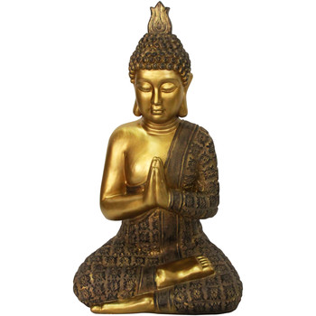 Casa Figuras decorativas Signes Grimalt Buda Dorado