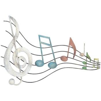 Casa Cuadros, pinturas Signes Grimalt Adorno Pared Notas Musica Multicolor